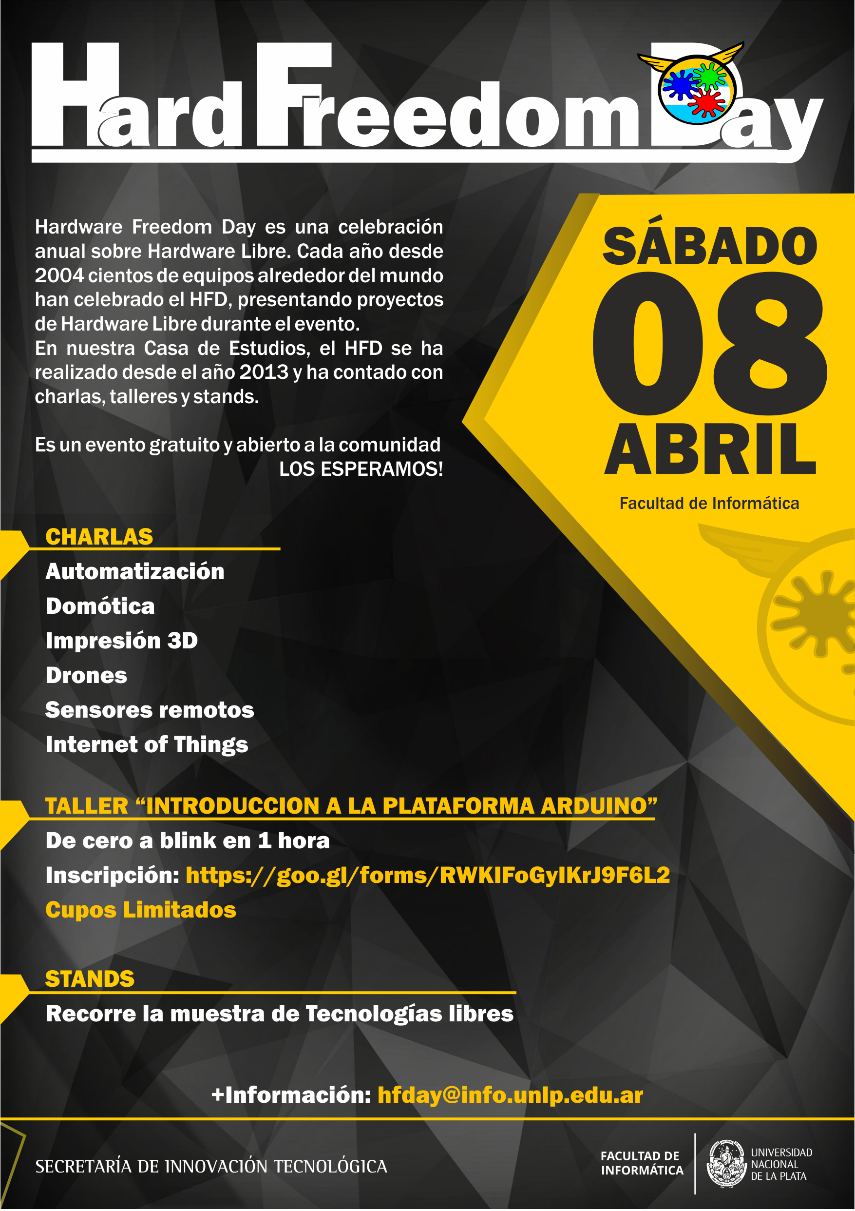 Jornada de Hardware Freedom Day 2017